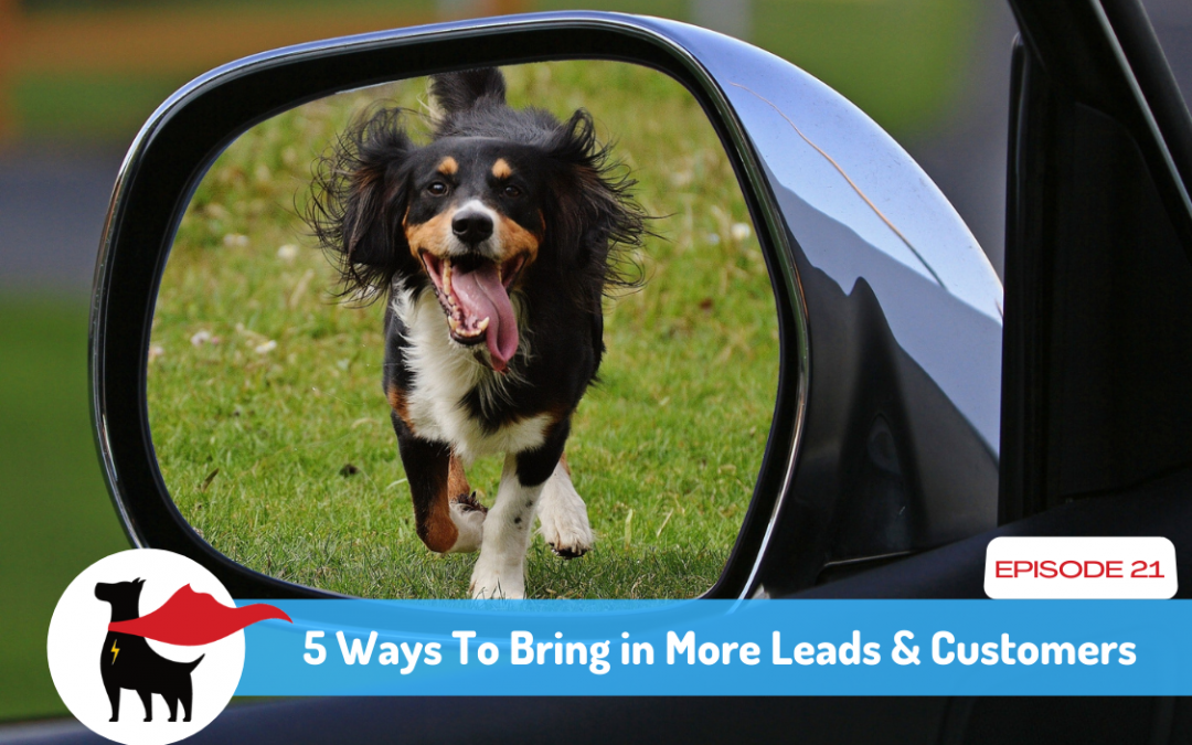 Episode 21: 5 Ways To Get More Leads & Customers