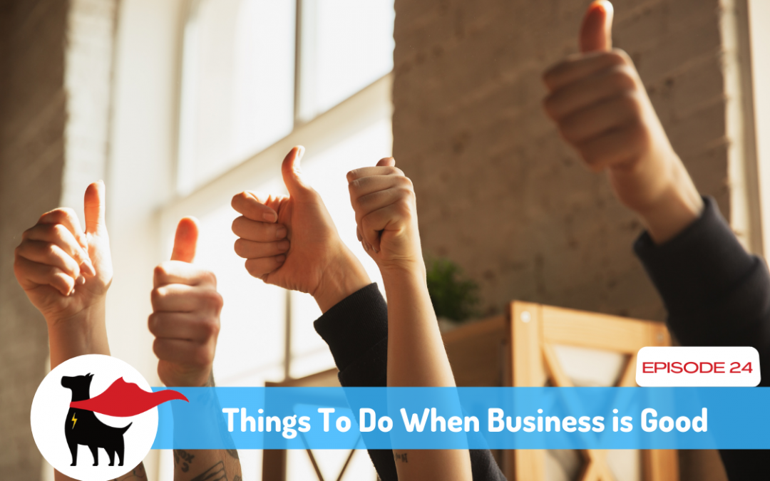 Episode 24: What To Do When Business Is Good